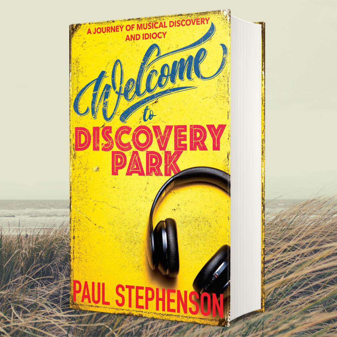 Welcome to Discovery Park has a brand new cover
